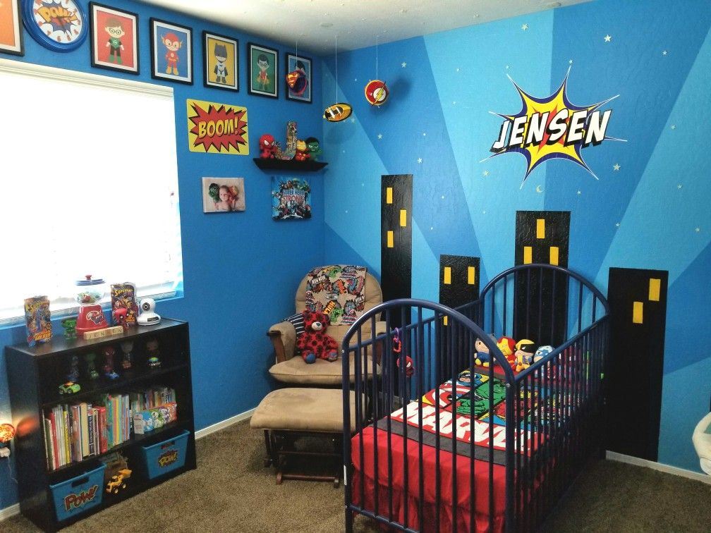 superhero nursey theme
