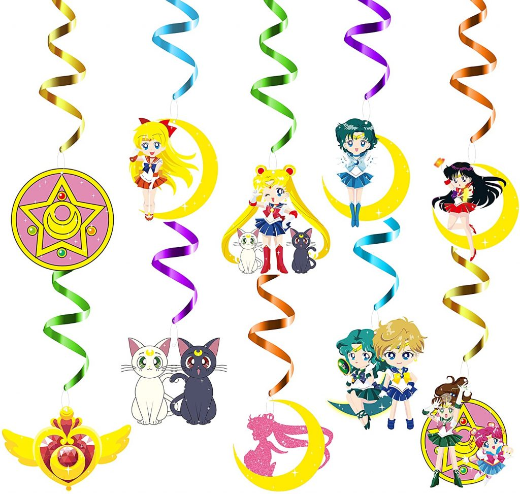 Sailor Moon Character Streamers