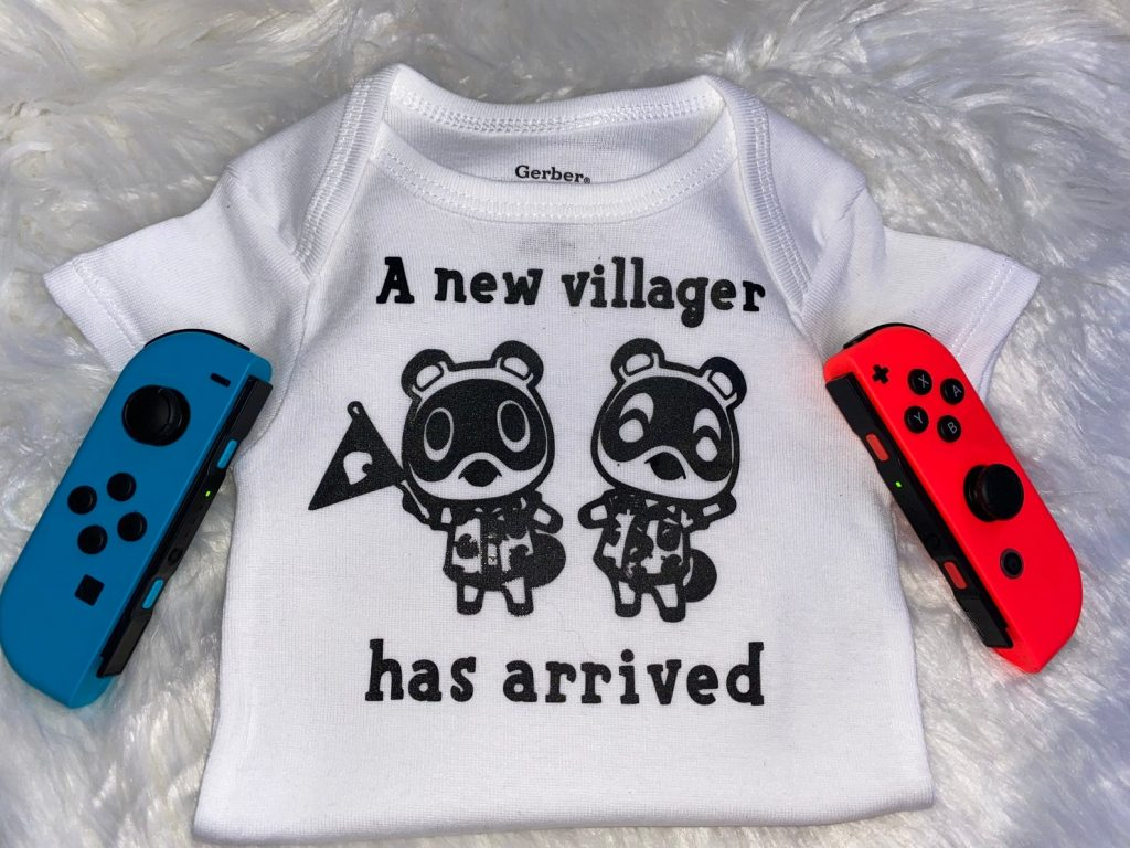 A New Villager Has Arrived! Animal Crossing: New Horizons Onesie