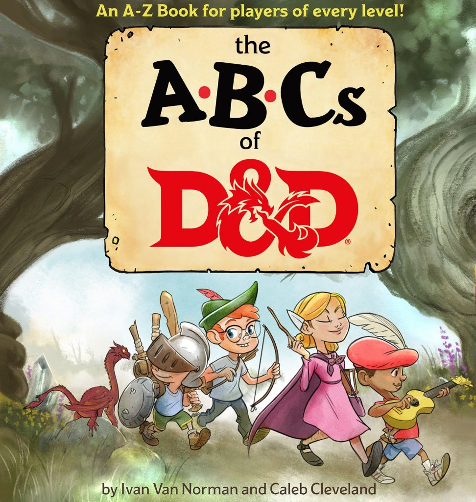 The ABCs of Dungeons and Dragons book cover